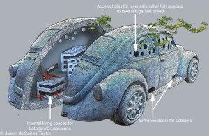 Artificial reef habitat